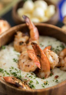 shrimps in bowl